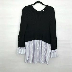 Kenzo sweater Size L 2 In 1 Button Back Shirt